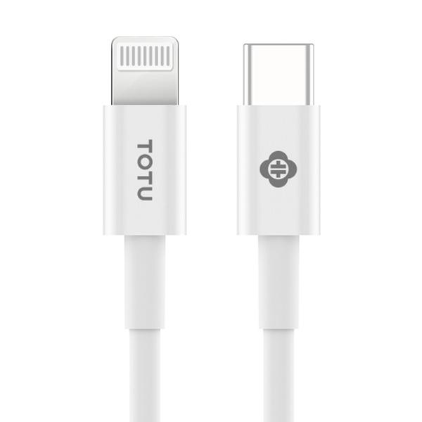 【TOTU】MFi原廠認證 PD/Lightning/Type-C/iPhone充電線快充線傳輸線 耀系列 100cm