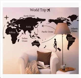 iStyle創意壁貼 世界地圖