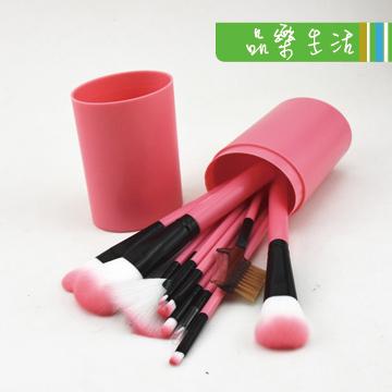 【品樂.LaVie】大容量桶裝化妝彩妝刷具12件套組