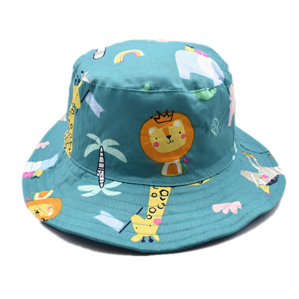 (Kori Deer)Kori Deer Kori Deer Zoo Cotton Baby Children's Fisherman Hat