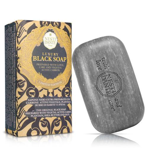 Nesti Dante 義大利手工皂-尊寵黑金淨化皂(250g)