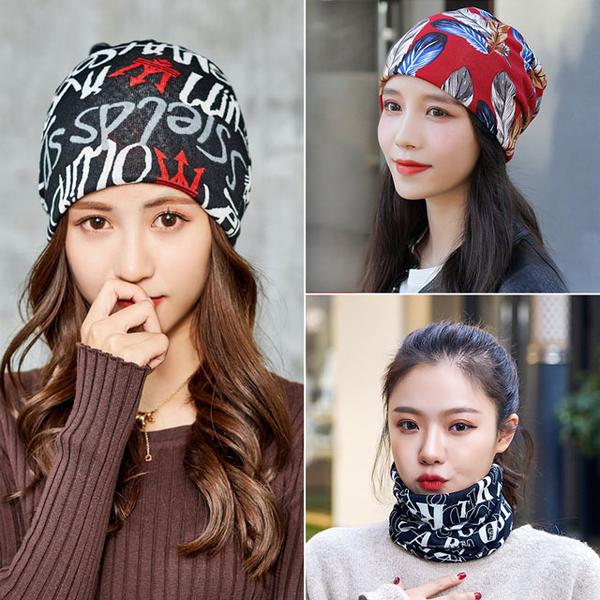 (幸福揚邑)[Happy Yangyi] Modeling turban, hood, dust mask, face mask, warm bib and scarf-feather letters