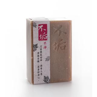 不垢-沉香艾草手工皂100g