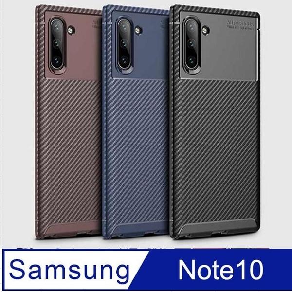 Samsung Samsung Galaxy Note 10 anti-fall carbon fiber mobile phone case protective case