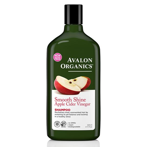 AVALON ORGANICS有機蘋果醋柔亮洗髮精-325ml