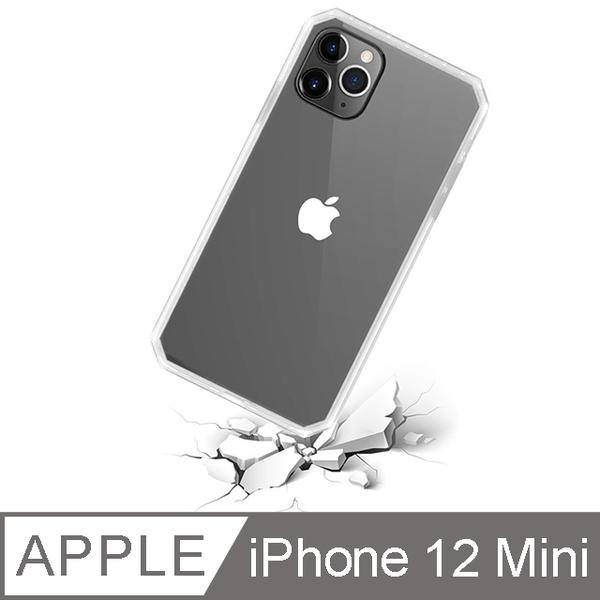 (toyselect)[TOYSELECT] iPhone 12 Mini BLAC 360-degree explosion-proof, anti-fall transparent iPhone case-transparent