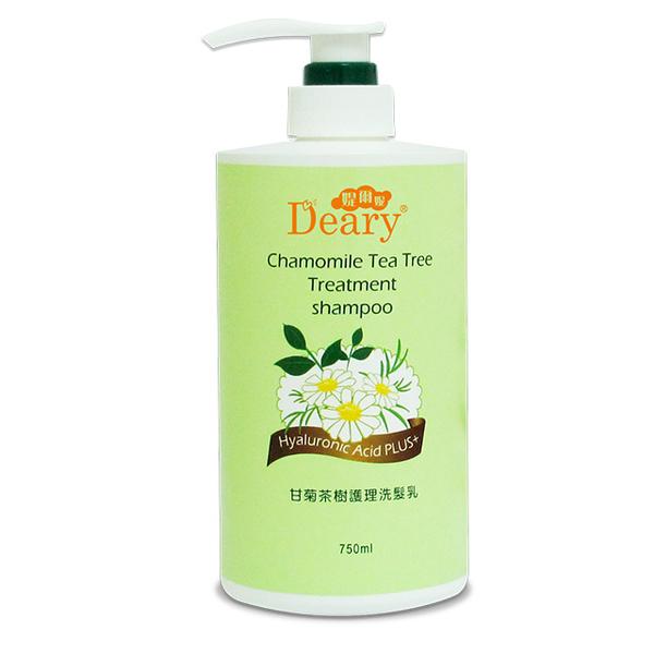 [Deary] Camomile Tea Tree Treatment Shampoo 750ml/1 bottle