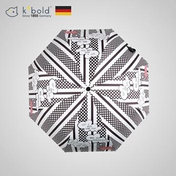 (【德國kobold酷波德】)[Germany kobold cool wave] anti-UV-wave point lips - ultra-lightweight - massage handle - sunscreen sun umbrella - three fold umbrella