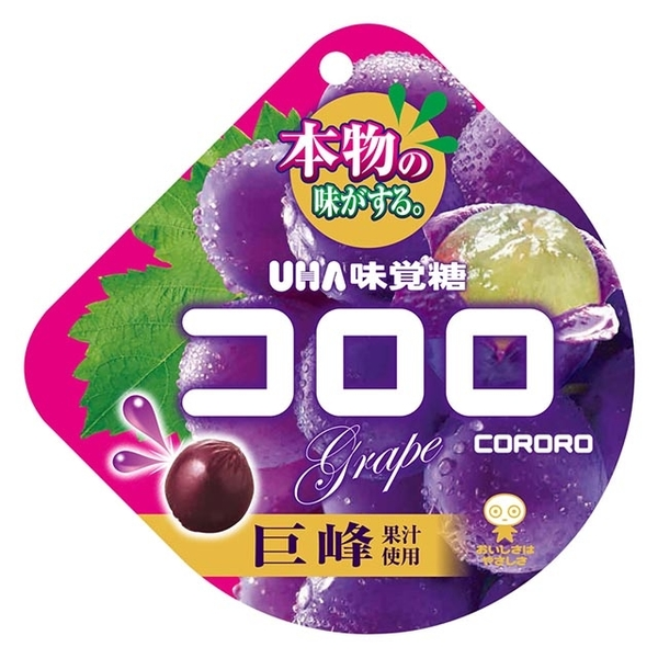 (UHA Mikakuto)UHA Mikakuto Cororo Gummy-Grape Flavor (40g)