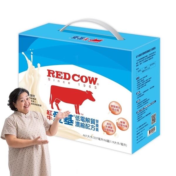 紅牛愛基低電解值濃縮配方營養素6入禮盒