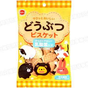 (Zelico)Zelico Animal shaped biscuits 100g