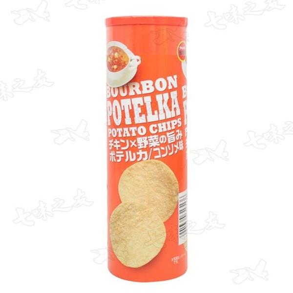 (Bourbon)Bourbon Puree Potato Chips 63g