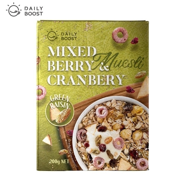 (Daily Boost)Daily Boost Multi-fruit cranberry oatmeal (200g/box)