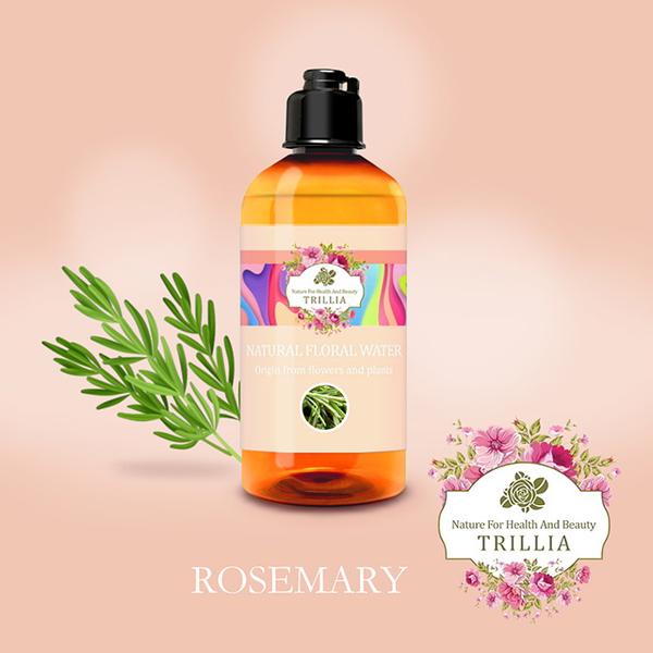 (Trillia)【Trillia】Rosemary Hydrosol-300ml