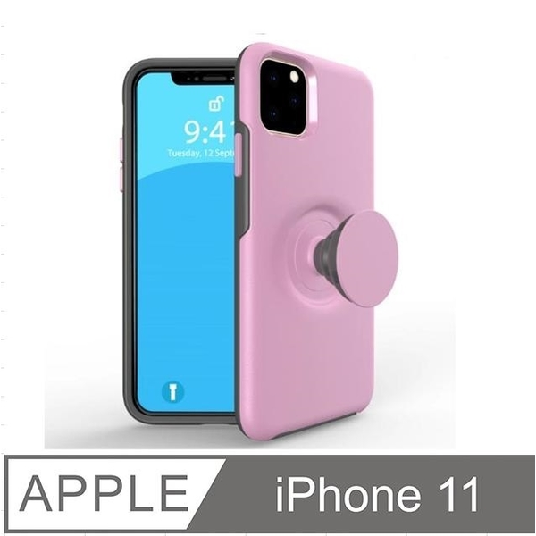 iPhone 11 retractable airbag bracket mobile phone case protective case protective sleeve