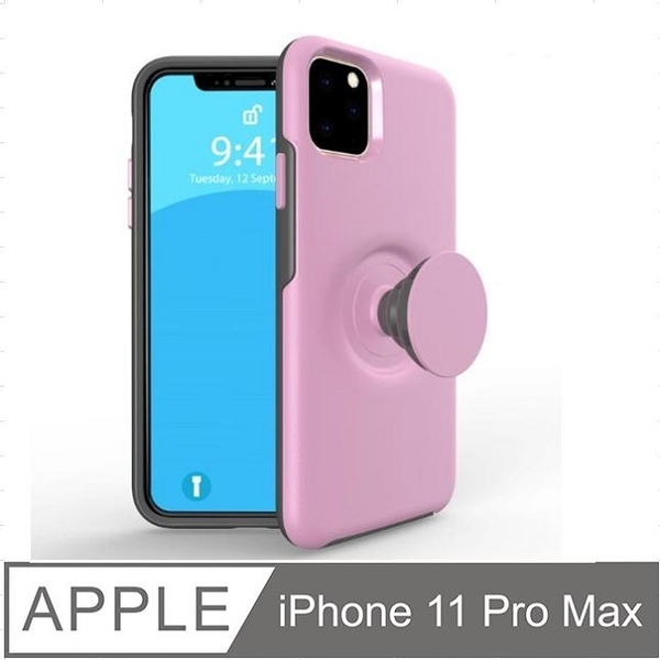 iPhone 11 Pro Max Retractable Airbag Bracket Phone Case Protective Case Cover
