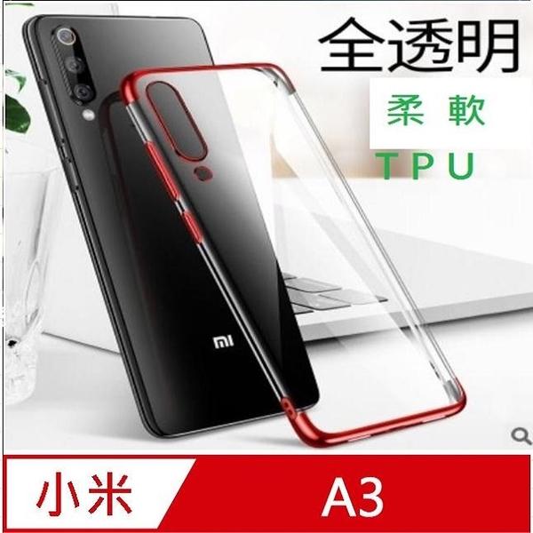 Millet A3 plating frame transparent phone case protective case