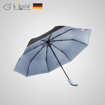 (【德國kobold酷波德】)[Germany kobold cool wave] anti-UV rotation ballet series - ultra-lightweight - hidden umbrella beads - sunscreen three fold umbrella -