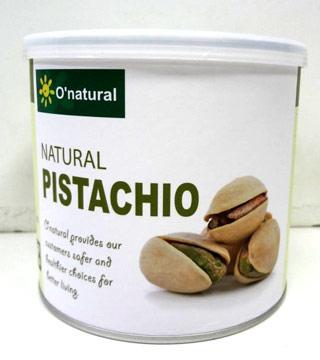 (O\'natural)O\'natural natural pistachios 150g