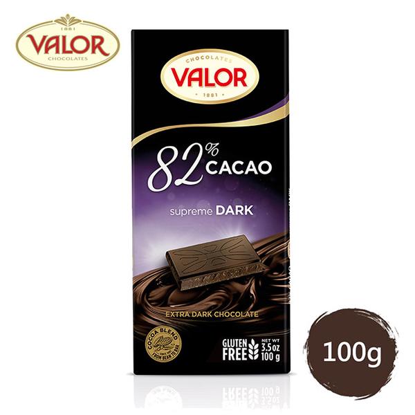 (Valor)Valor 82% pure dark chocolate 100g