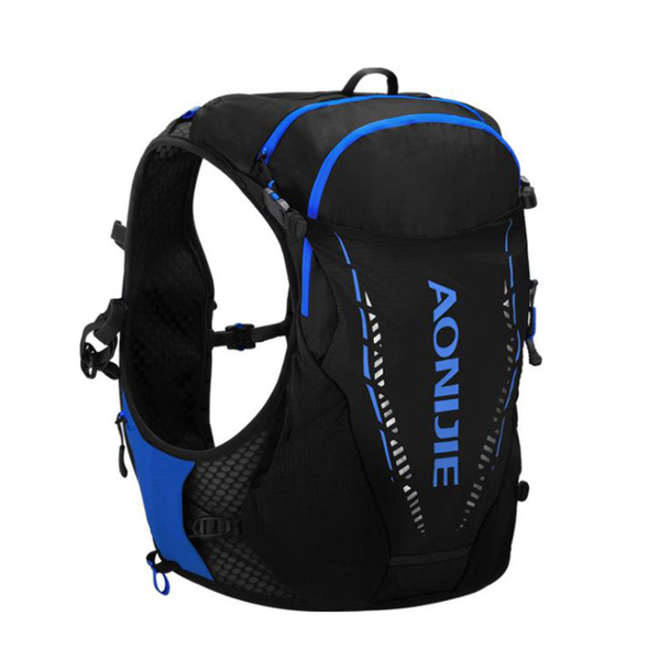 (AONIJIE)AONIJIE Cycling Sports Running Cross Country Water Bag Backpack 10L Cool Black
