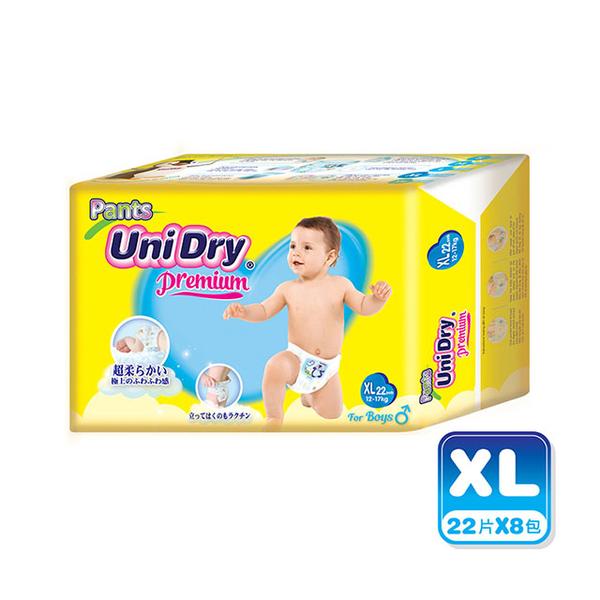 優力褲 嬰兒褲型紙尿褲特級版男生版XXL18片x8包/箱