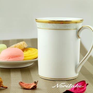【Noritake】美景之都馬克杯(金)