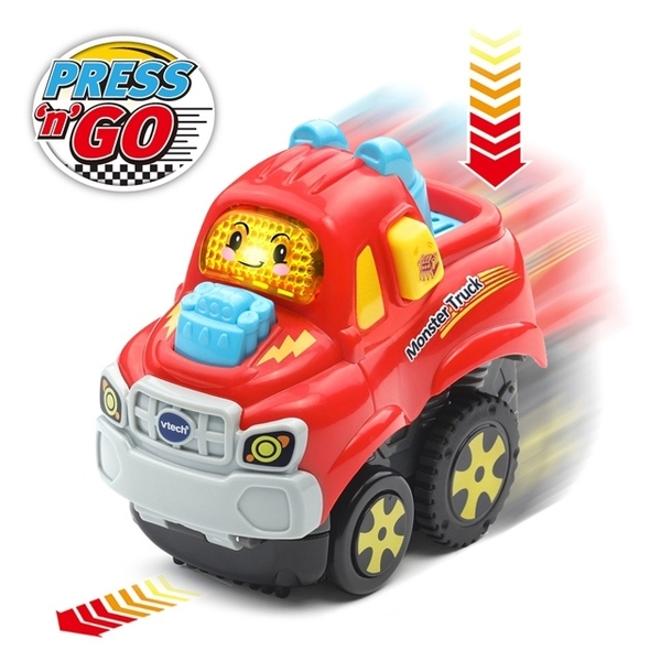 (vtech)Vtech beep sound and light pull back assault car-cool jeep