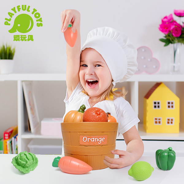 Two-color fruit and vegetable bucket YH8038