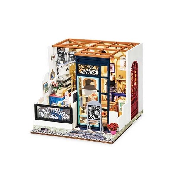 (Robotime)Corner Shop Art House-Nancy\'s Bakery