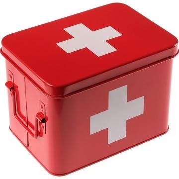 VERSA 5格急救收納盒(紅)