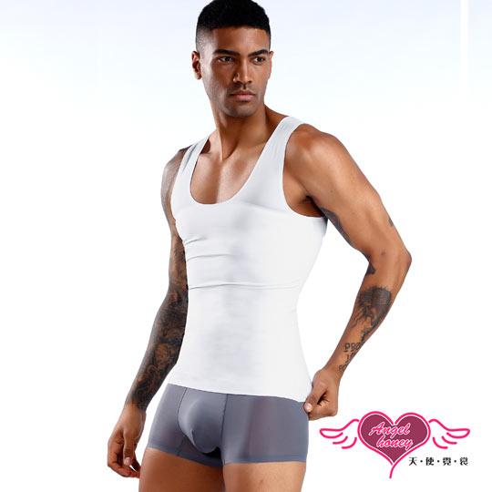 (angel)Shapewear Men's Speedy Sleeveless Sports Vest Sports Underwear (White M~XL) AngelHoney