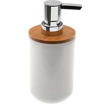 (VERSA)VERSA Rustic Hand Wash Milk Jar (White 300ml)