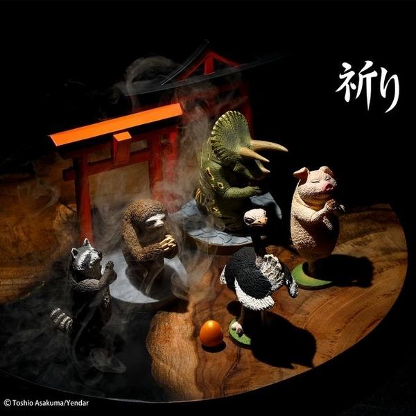 (YENDAR)【Yendar】Animal Life Torii-Praying PART2
