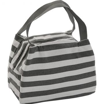 (VERSA)VERSA portable cold storage bag (gray stripe 7L)