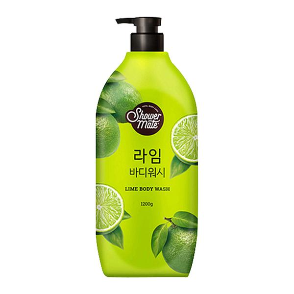 【韓國 Shower Mate】微風如沐果香沐浴乳1200g(沁萊姆)