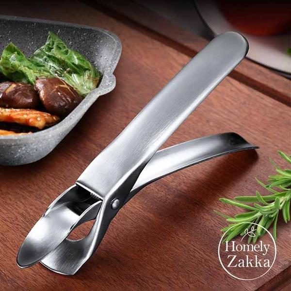 【Homely Zakka】不鏽鋼304加固型防燙夾/夾碗夾/提盤器