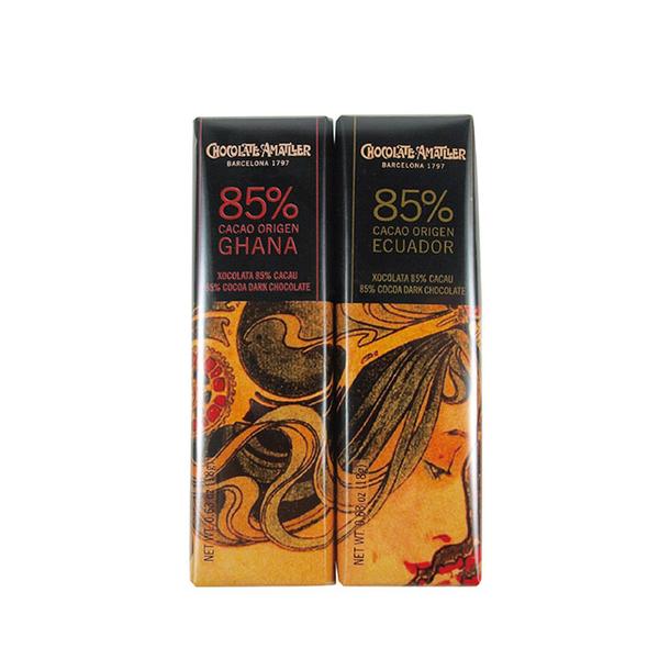 (Chocolate Amatller)Chocolate Amatller 85% dark chocolate set 36g