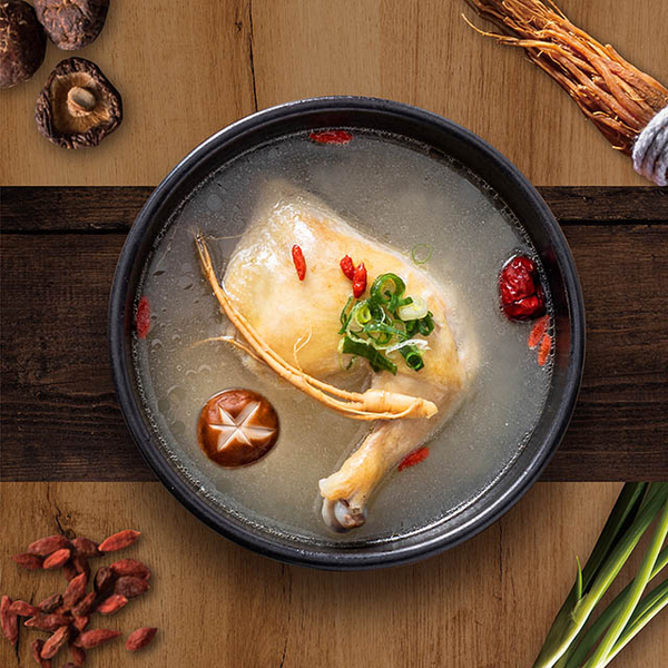 (Dubu House Korea)Dubu House Korea Korean ginseng chicken soup (600g±5%/pack) (solid content 150g)