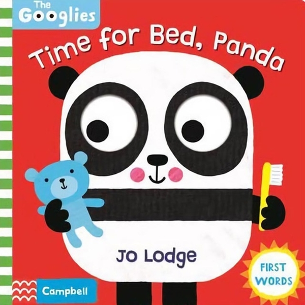 (Campbell Books)Time For Bed,Panda 操作書(外文書)