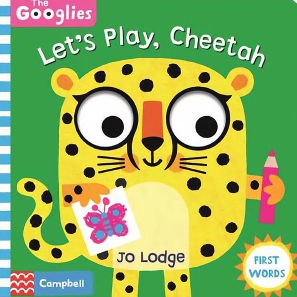 (Campbell Books)Let's Play,Cheetah 操作書(外文書)