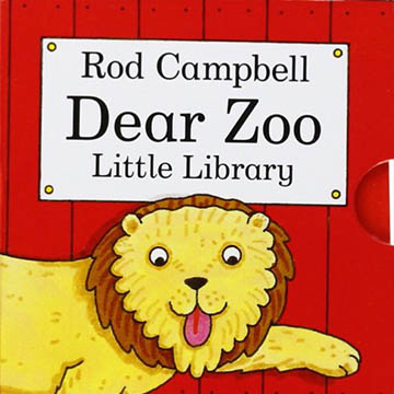 (Macmillan Children\'s Books)Dear Zoo Little Library 可愛的動物園 掌中盒裝書(外文書)