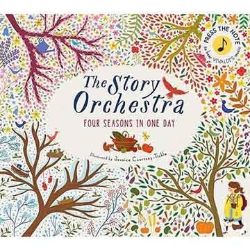 (Frances Lincoln)The Story Orchestra:Four Seasons In One Day 韋瓦第四季音樂故事 精裝有聲繪本(外文書)