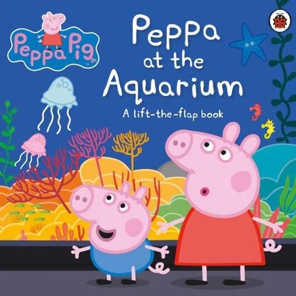 (LadyBird Books)Peppa Pig:Peppa At The Aquarium 翻翻書(外文書)