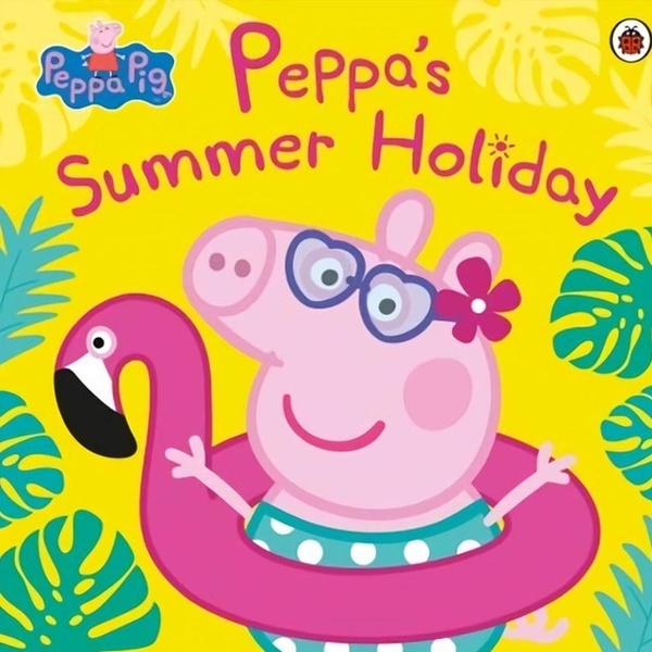 (LadyBird Books)Peppa Pig:Peppa's Summer Holiday 平裝故事書(外文書)