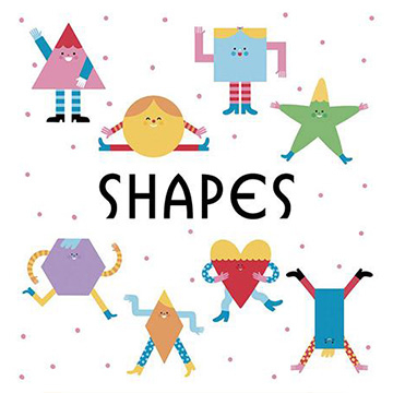 (Words & Pictures UK)First Concept Bath Book:Shapes(外文書)