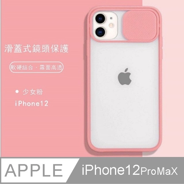 (JIEN HONG)iPhone 12ProMax 滑蓋式(鏡頭)保護殼
