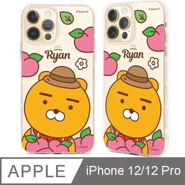 "GARMMA KAKAO FRIENDS iPhone 12/12 Pro (6.1"")保護軟殼 蜜桃Ryan"