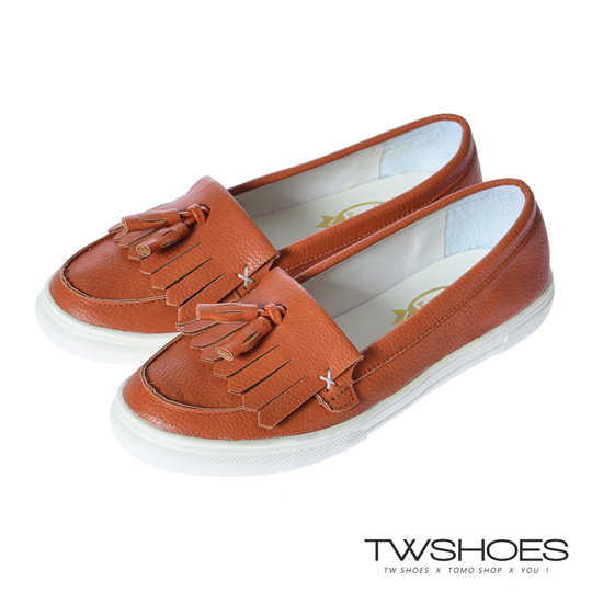 (twshoes)Taiwan shoes net ‧ comfortable step tune wheat tassel flat bottom loafers shoes / casual shoes [K120A3597]
