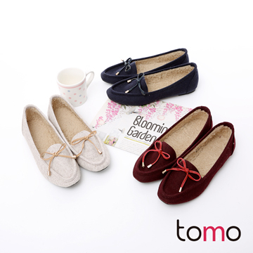 (TW Shoes)[TOMO] within bow hair laying flat Baoxie] [K160A1829